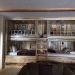 Custom Built-In Bunk Beds
